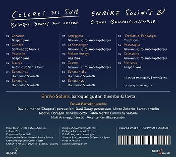 Amazon.com: Colores Del Sur: Music