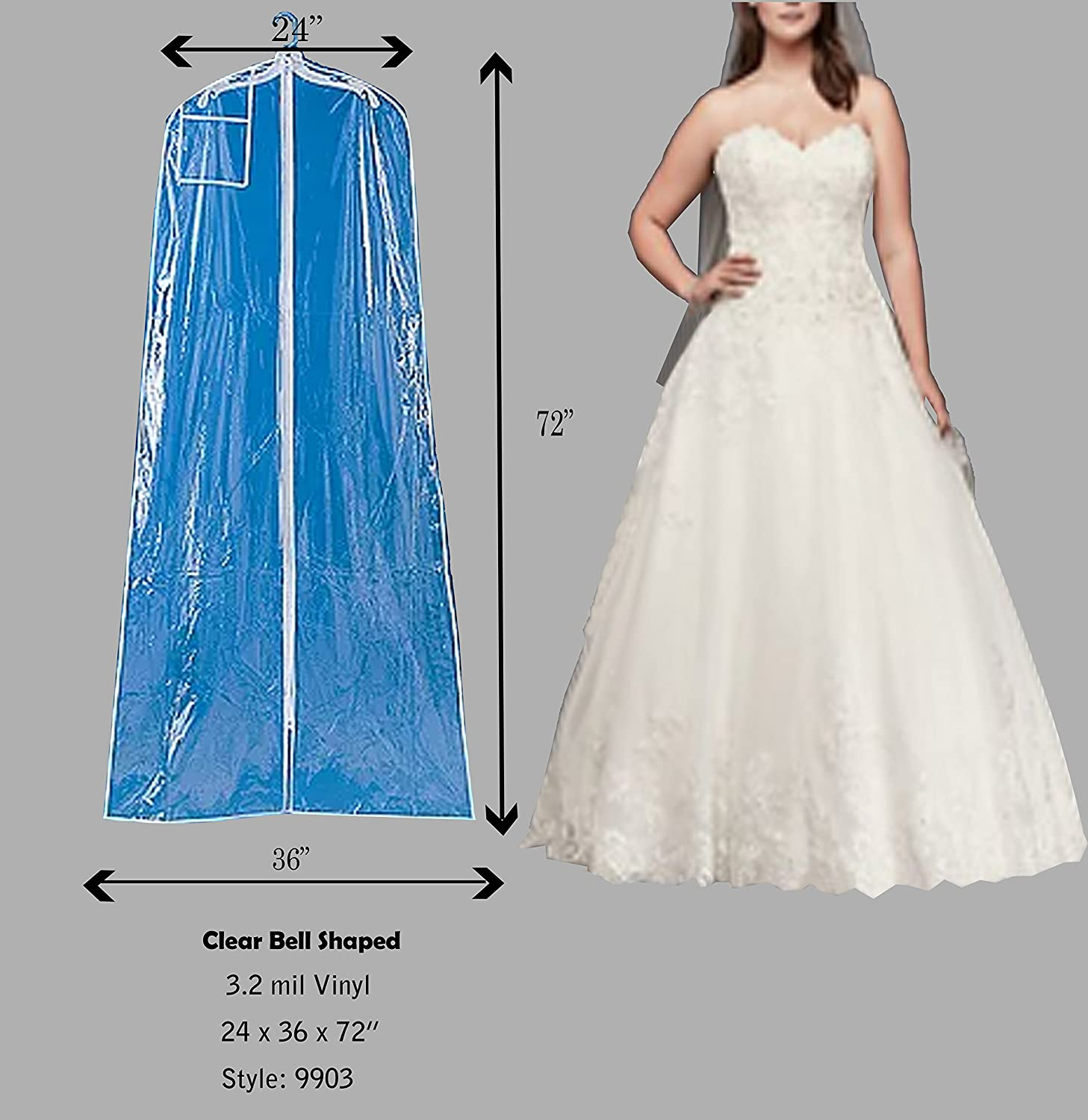 Luxury Wedding Gown Bag Frieze - All Wedding Dresses ...