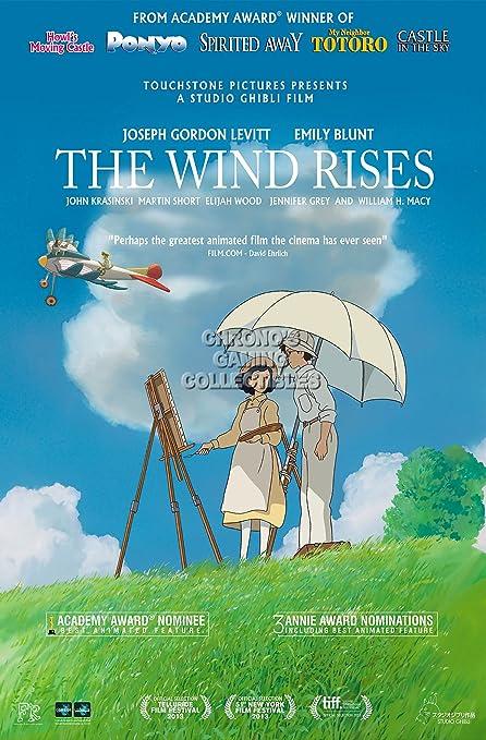 Amazon.com  CGC Huge Poster - The Wind Rises Movie Poster Studio ... 044b779f57