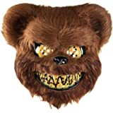 Bear Face Mask Pants Roblox Amazon Com Holibanna Bloody Bear Mask Halloween Cosplay Costume Prop Dress Up Accessory For Masquerade Party Performance Black Size 1 Clothing