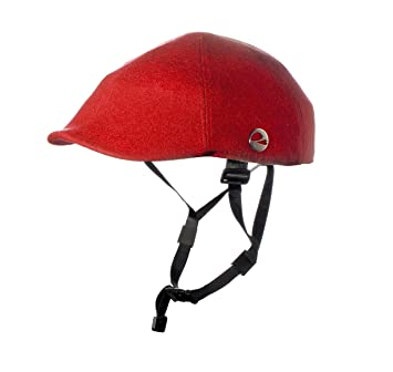 CASCO PLEGABLE PARA BICICLETA CLOSCA RED DUCKBILL BICI URBANA -COLOR ROJO -Talla L