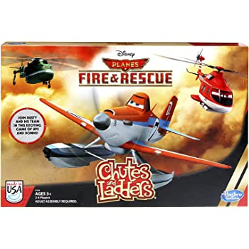 Amazon Com Disney Planes Fire And Rescue Chutes And