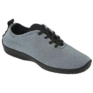 Arcopedico Womens LS 1151 Titanium Fabric Shoes 41 EU 9INH9y4iFQ