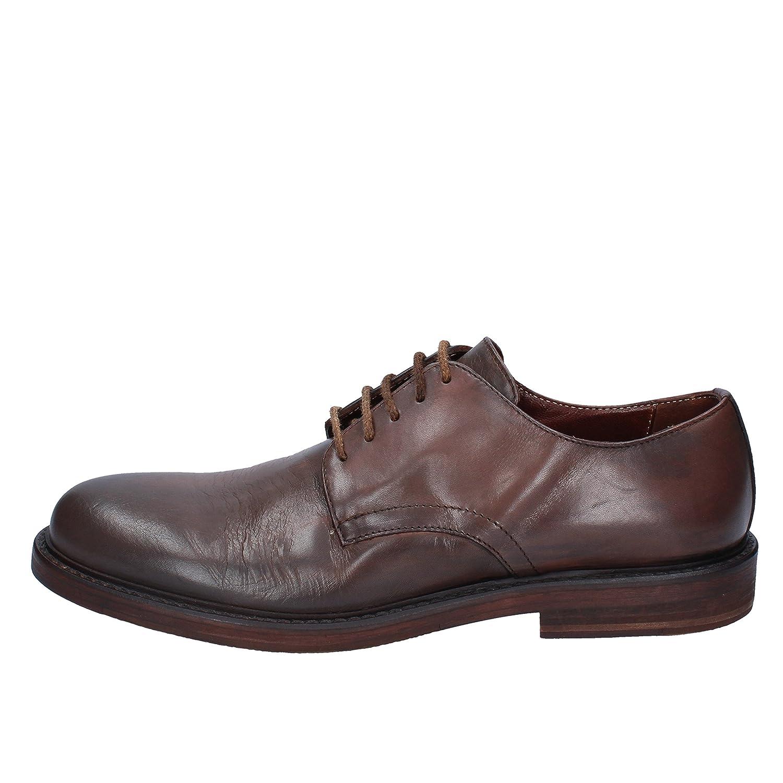 ROBERTO BOTTICELLI Elegante Schuhe Herren Herren Herren Leder braun B07MG5H9B6 bf3be2