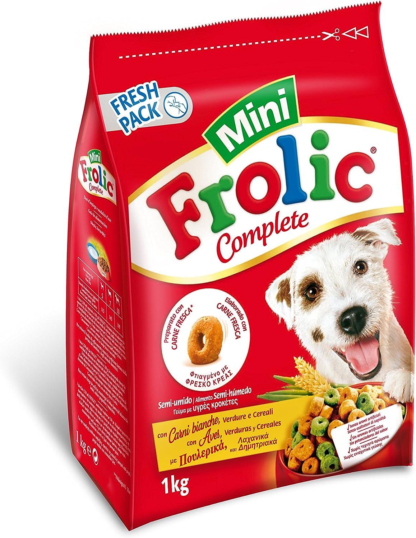 Frolic Pienso para Perros Adultos Mini Sabor Ave (Pack de 6 x 1kg)