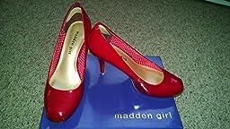 Amazon.com: Madden Girl Women\u0026#39;s Getta Pump: Shoes
