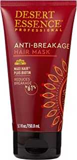 product image for Desert Essence Anti-breakage Hair Mask - 5.1 Fl Oz - Maxi Hair Plus Biotin - Hair Moisturizer - Essential Enriched Vitamins - Promotes Breakage Reduction - Salon Professional Formula