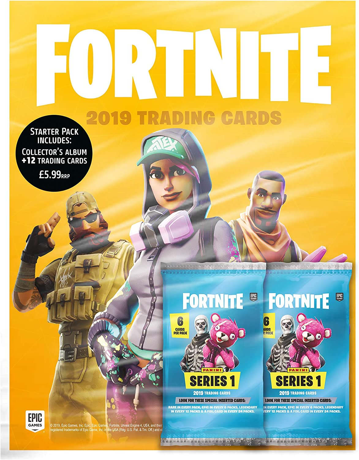 Fortnite - Colección de tarjetas , color/modelo surtido: Amazon.es ...