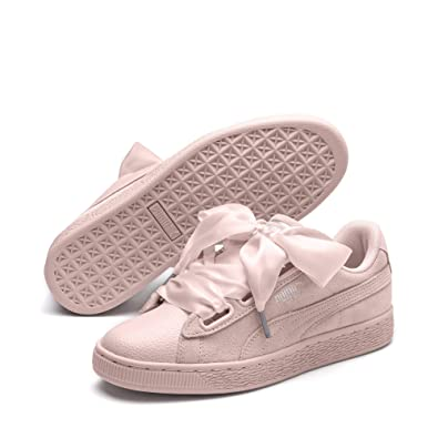 the latest 1a4f8 a384d Puma Suede Heart Bubble, Sneakers Basses Femme