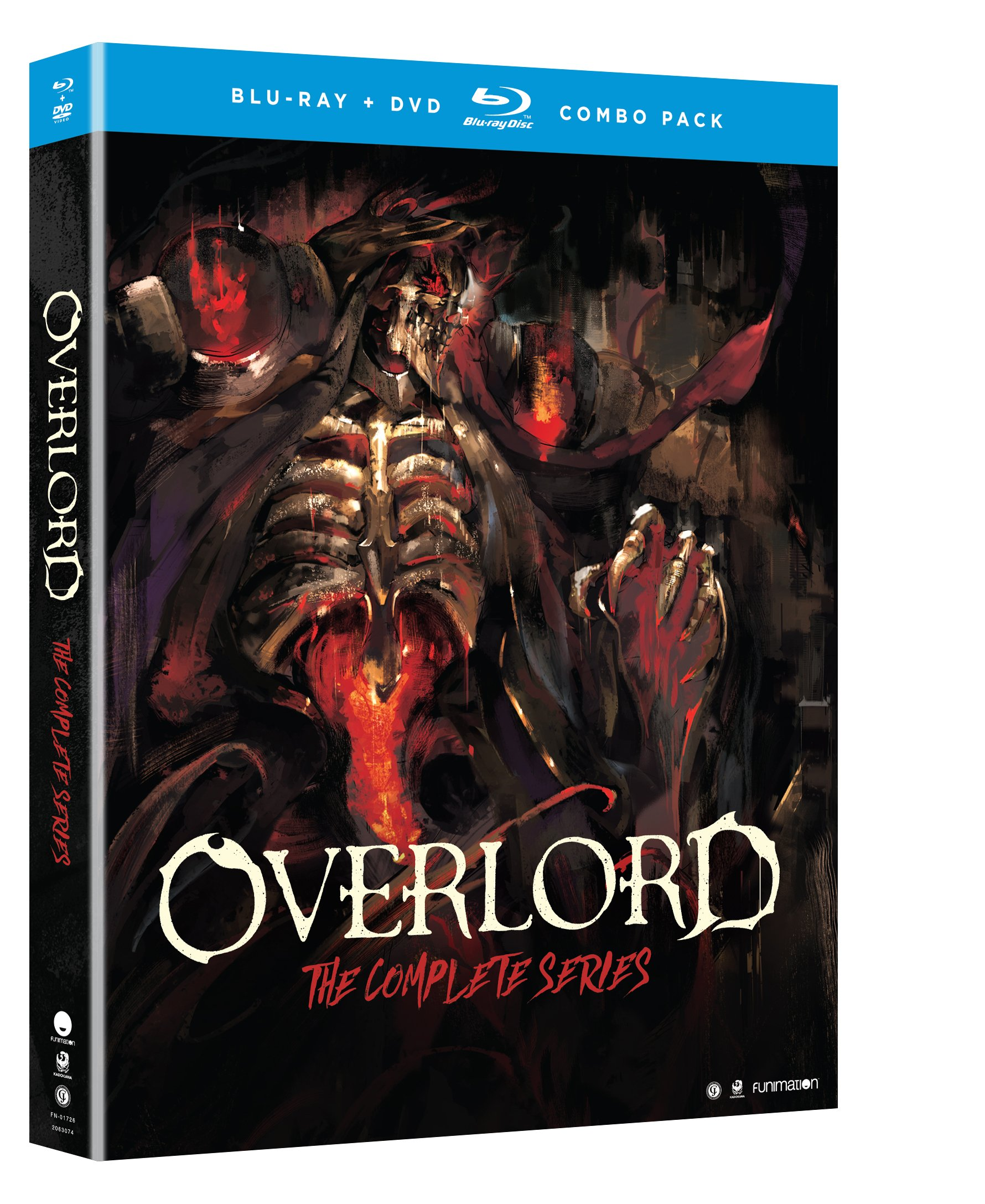Blu-ray : Overlord: Season One (With DVD, Boxed Set, , 4 Disc)