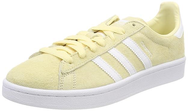 adidas Campus, Chaussures de Fitness Homme, Jaune (Solneb/Ftwbla/Ftwbla 000), 48 2/3 EU