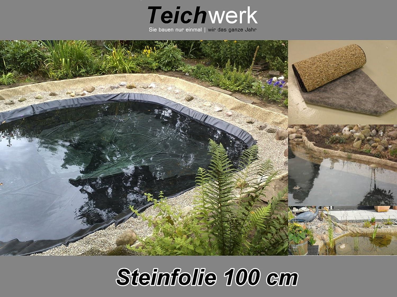 Teichwerk Steinfolie 50 cm Breite - 12 m Rolle