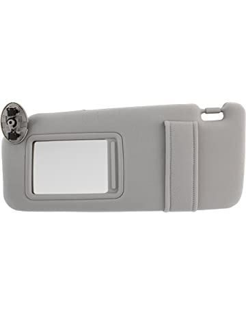 IAMAUTO 31679 New Sun Visor Left Driver Side Gray for 2007 2008 2009 2010  2011 Toyota 3e6e7817f6f