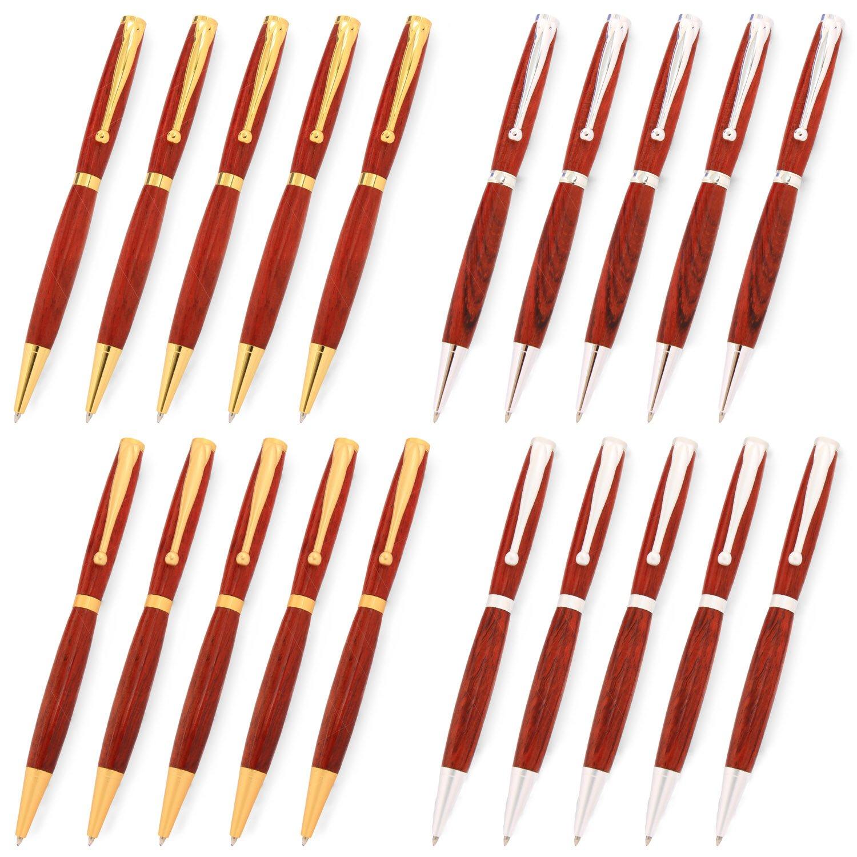 Legacy Woodturning, Fancy Pen Kit, Many Finishes, Multi-Packs by Legacy Woodturning