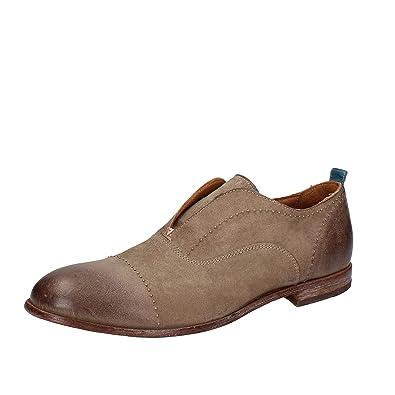MOMA - Mocasines de ante para hombre beige beige beige Size: 42,5: Amazon.es: Zapatos y complementos