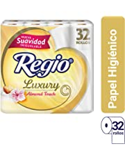 Regio Luxury Almond Touch Toilet Paper 32 rolls