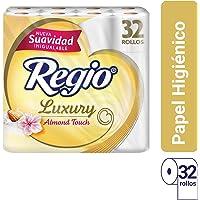 Regio Luxury Almond Touch Toilet Paper 32 rolls