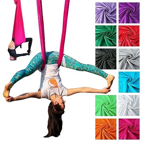 Hamaca de Yoga aérea profesional Firetoys®, fabricada en el ...