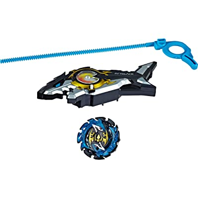 BEYBLADE Burst Turbo Slingshock Riptide Blast Set -- Right/Left-Spin Launcher with Right-Spin Battling Top, Age 8+: Toys & Games