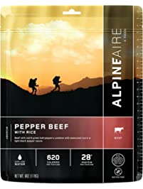 Alpine Aire Pepper Beef with Rice