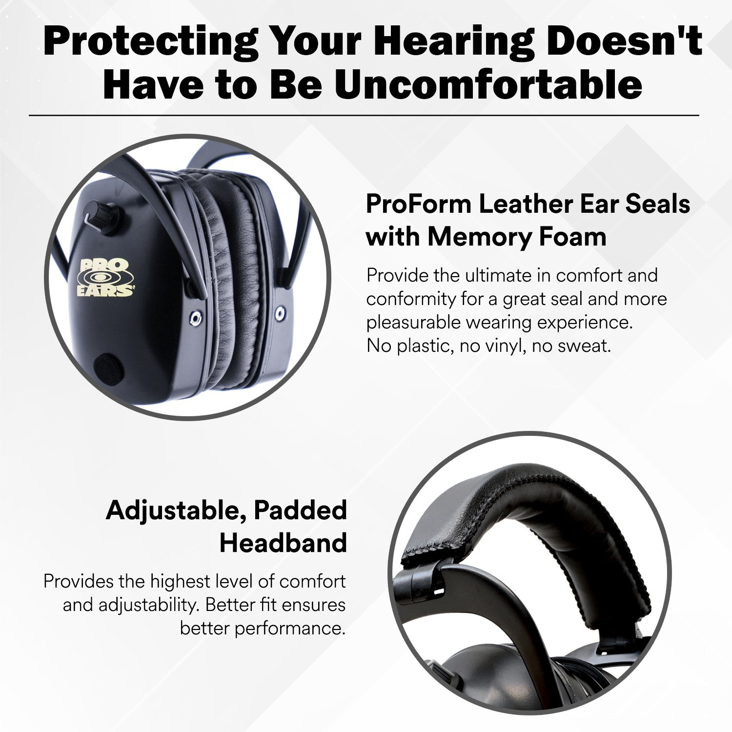 Pro Ears - ReVO - Hearing Protection - NRR 25 - Youth and Women Ear Muffs - Pink Rain by Pro Ears (Image #3)