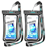 Mpow Waterproof Case, New Type PVC Waterproof Phone Pouch, Universal Dry Bag for iPhone 7/7 Plus, Galaxy/Google Pixel/LG/HTC