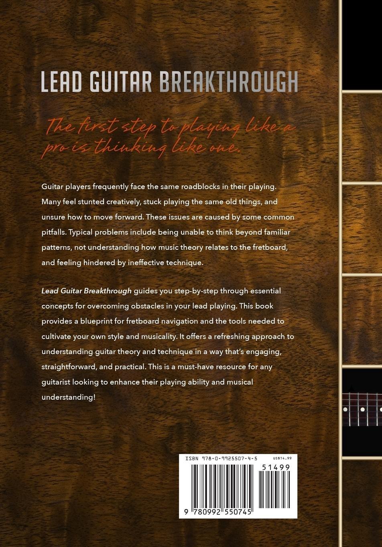Lead Guitar Breakthrough Fretboard Navigation Theory Technique