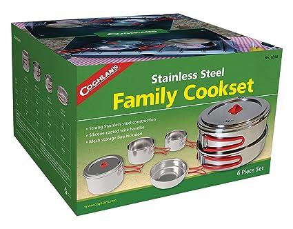 Amazon.com: Coghlans - Juego de cocina (acero inoxidable ...