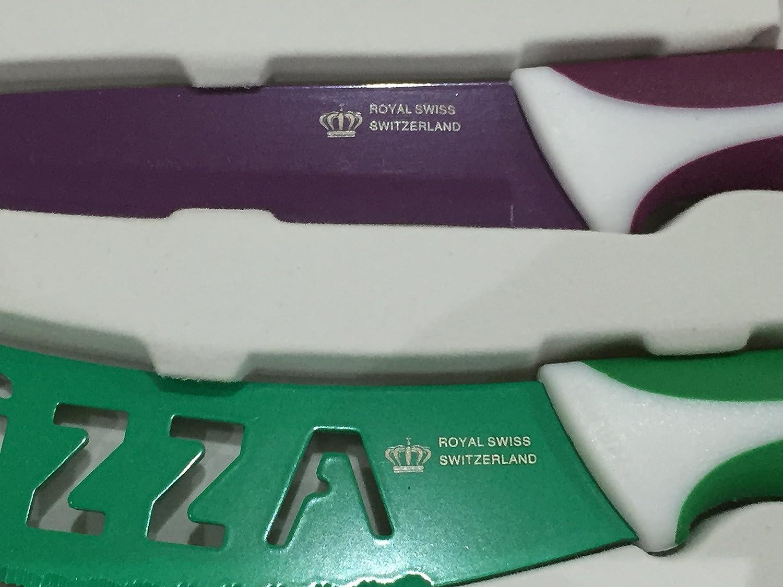 Compra Swiss - Juego de 5 cuchillos de acero inoxidable, de ...