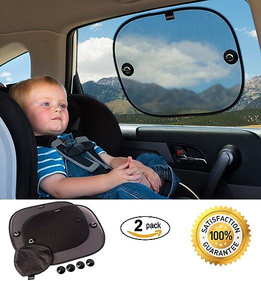 144 opinioni per Tendine Parasole Auto Bambini (2 tende)- Tendina Parasole Auto blocca oltre il