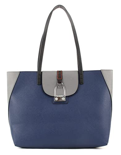 08f2fe809e174 LA MARTINA Caballito Shopping Bag M Blue Grey  Amazon.de  Schuhe ...