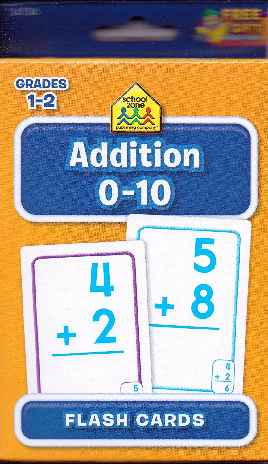 Flash Cards for Addition Vision Street