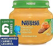 Papinha Carne, Legumes e Macarrão Nestlé 115g