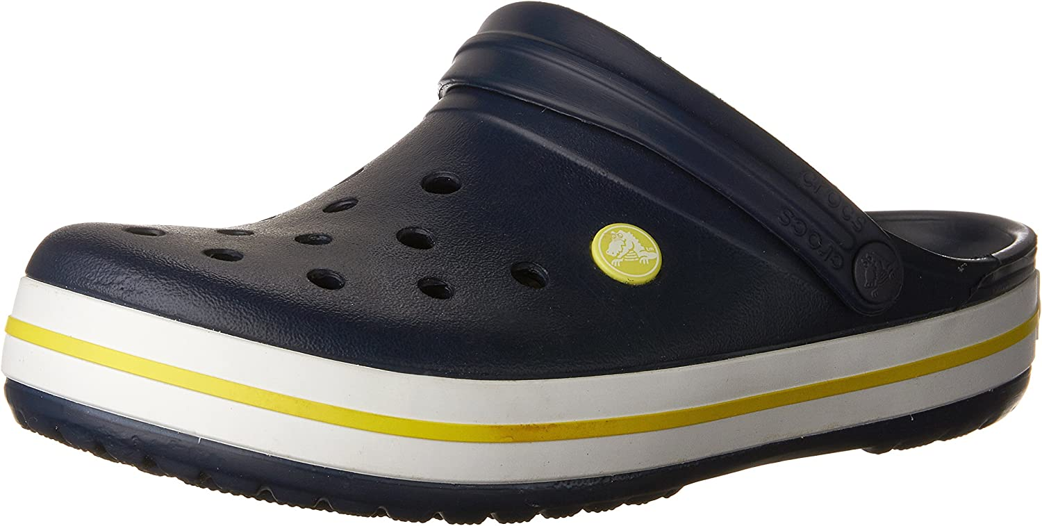 Crocs Men's and Women's Crocband Clog   Slip on Shoes   Casual Water Shoes