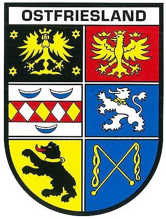 Aufkleber Wappen Schleswig-Holstein 115 x 90 mm ~~~~~ schneller Versand innerhalb 24 Stunden ~~~~~