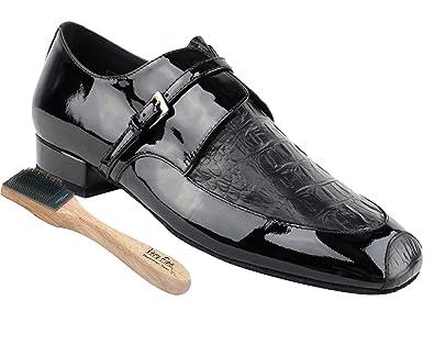 681f79aa799150 Very Fine Men's Salsa Ballroom Tango Latin Dance Shoes Style CD9003B Bundle  with Dance Shoe Wire