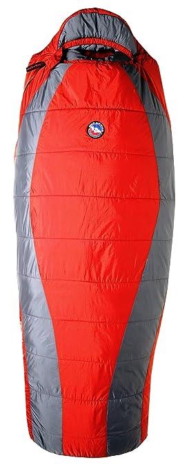 Big Agnes Encampment 15 Grado ClimaShield HL Saco de Dormir, Hombre, Red/Gray