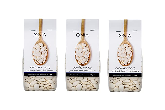 ef891f875 Greek Giant White Beans Traditional Variety of Gigantes 1,5kg (Pack ...