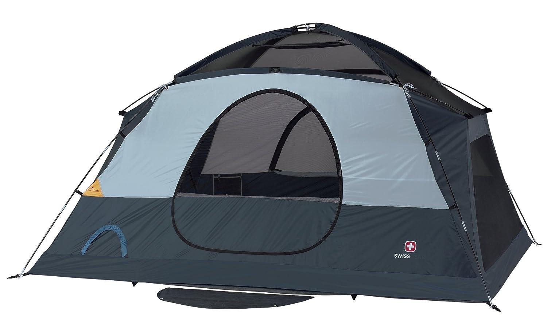 Amazon.com  Swiss Gear Falera Family Dome Tent (Blue/Grey)  Sports u0026 Outdoors  sc 1 st  Amazon.com & Amazon.com : Swiss Gear Falera Family Dome Tent (Blue/Grey ...