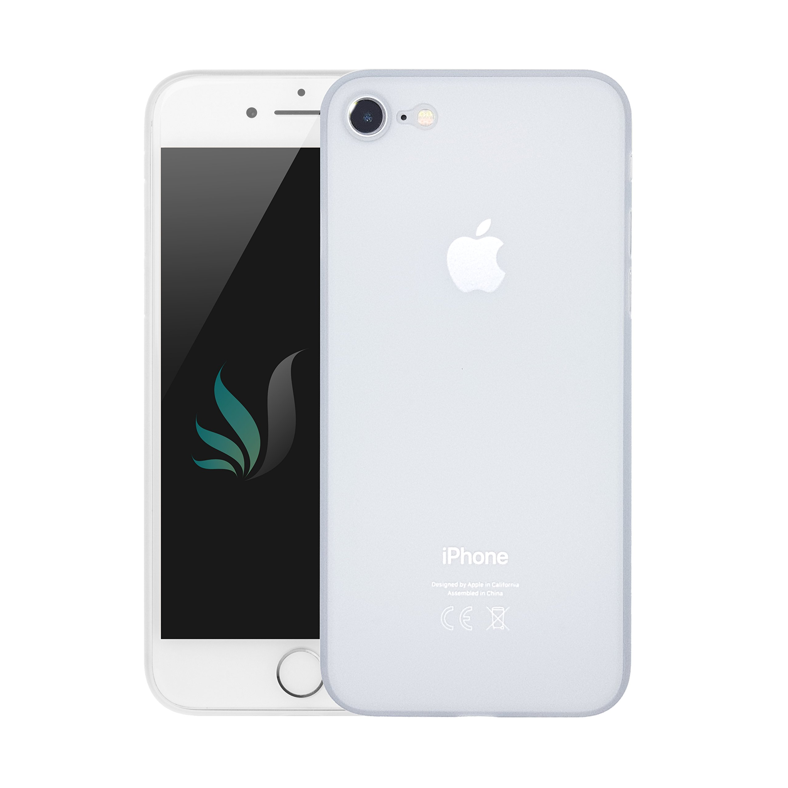 I-Spring IPhone 7/8 Hülle Silikon transparent dünn crystal clear (IPhone 7/8, transparent)