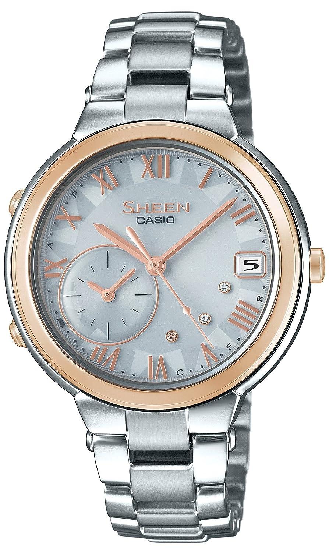 [カシオ]CASIO 腕時計 シーン VOYAGE TIME RING Series スマートフォンリンクモデル SHB-200ASG-7AJF レディース B0747JJJNS