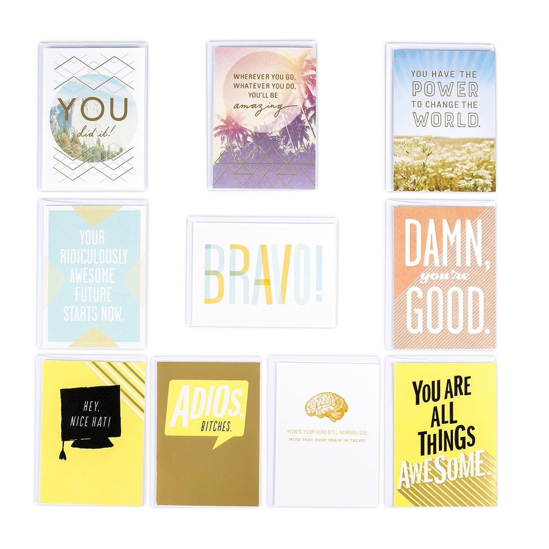 Amazon Hallmark Studio Ink Funny Graduation Greeting Card
