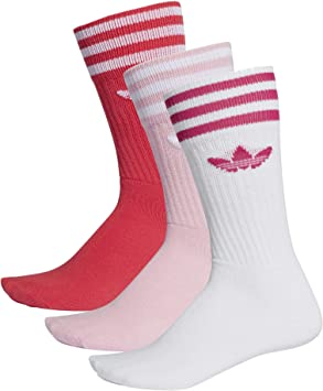 adidas Solid Crew Socks Socken 3er Pack