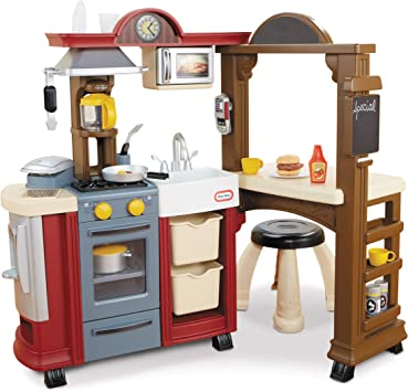 Little Tikes Kitchen & Restaurant-Red – (Amazon Exclusive)