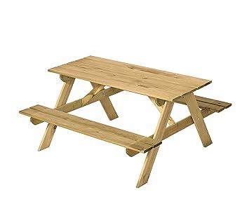 Amazonde Kindersitzgruppe Holz Als Garten Kinder Picknicktisch