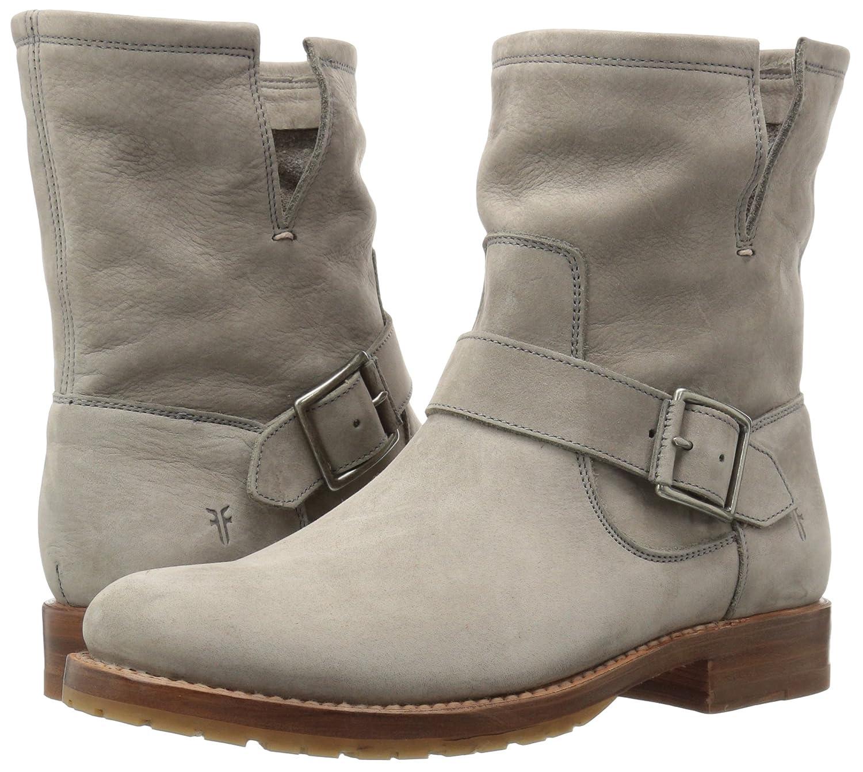 FRYE Women's Natalie Short Engineer Boot B01H5KHMB2 10 B(M) US|Grey