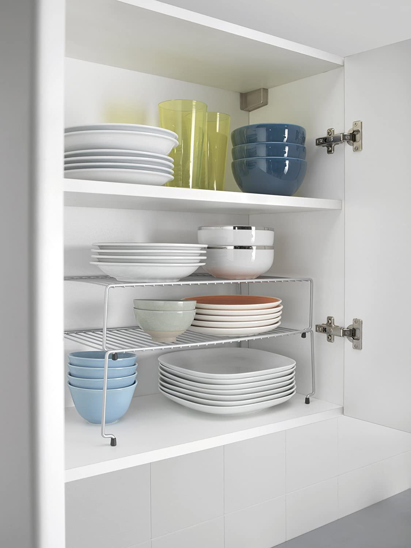 Estantes para cocina cocina estantera con varias for Soporte platos cocina