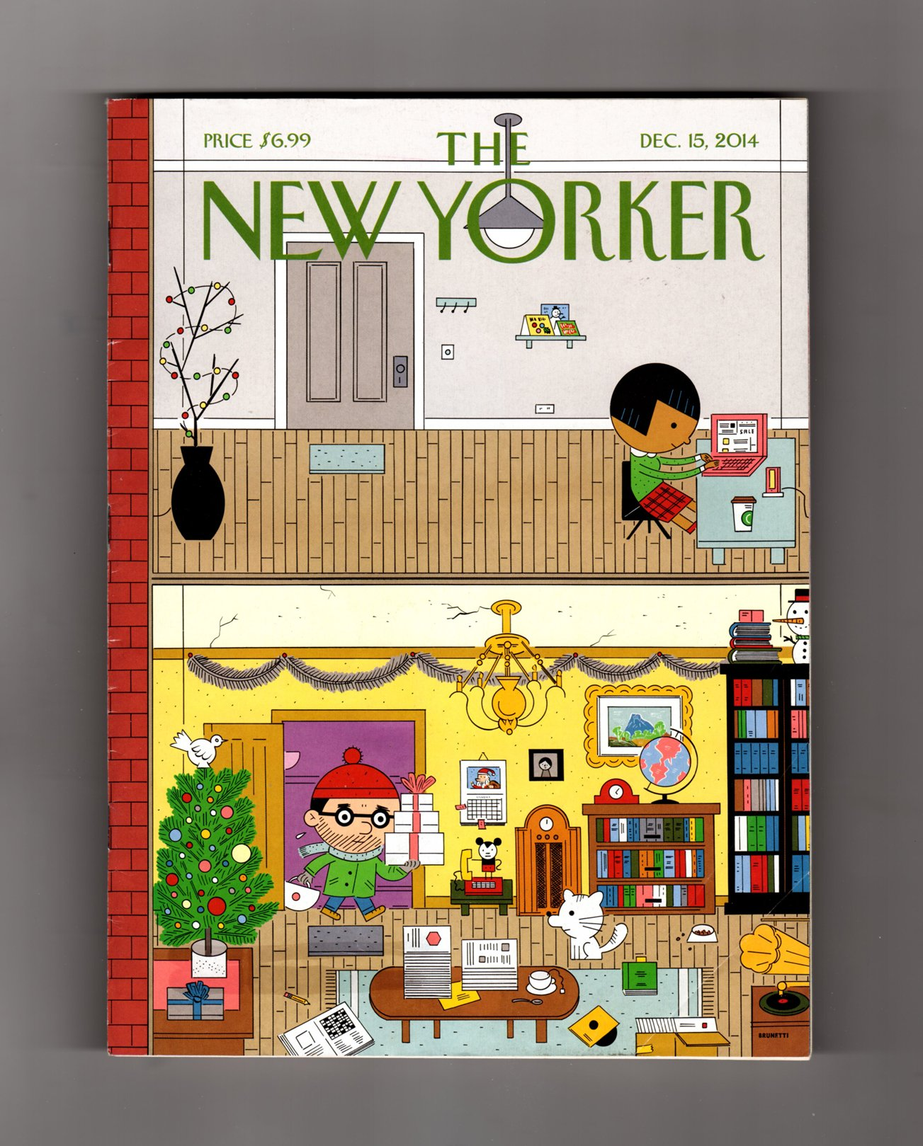 Download The New Yorker - December 15, 2014. Ivan Brunetti Cover, 'High and Low'. Blood, Simpler; Charon, Hades Boatman; The Ice Breaker; Hollywood and Vine; Weather Man; Elizabeth McKenzie Fiction pdf epub