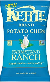 product image for Kettle Brand Potato Chips, Farmstand Ranch Kettle Chips, 8.5 Oz