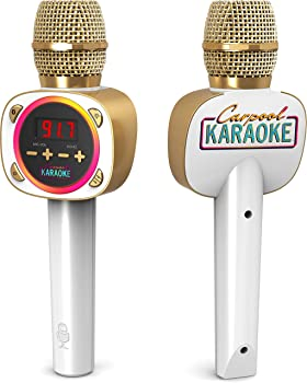 Singing Machine Carpool Karaoke Wireless Dynamic Microphone